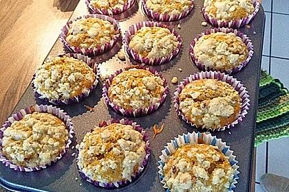 Kürbismuffins mit Äpfeln 1