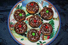 Adventmuffins mit Crunch
