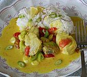 Fisch - Curry in Kokosmilch