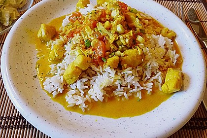 Fisch - Curry in Kokosmilch 4