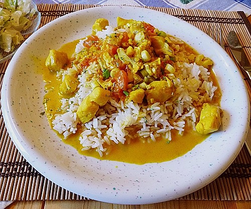 Fisch - Curry in Kokosmilch 2
