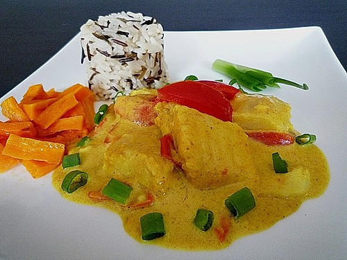 Fisch - Curry in Kokosmilch 3