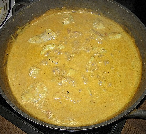Fisch - Curry in Kokosmilch 0