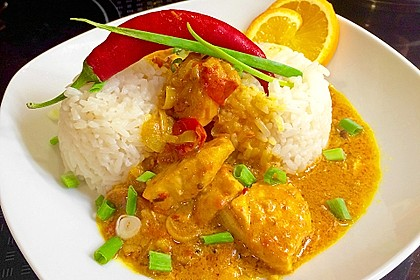 Fisch - Curry in Kokosmilch 1
