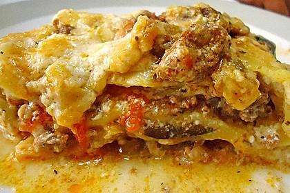 Lasagne mit Champignons