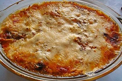 Lasagne mit Champignons 1