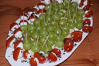 Tomate - Mozzarella - Sticks 40