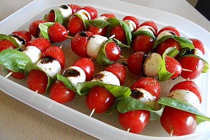 Tomate - Mozzarella - Sticks 8
