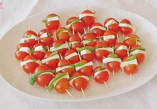 Tomate - Mozzarella - Sticks 5