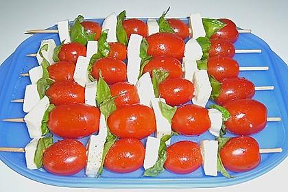 Tomate - Mozzarella - Sticks 22