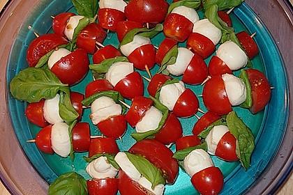 Tomate - Mozzarella - Sticks 25