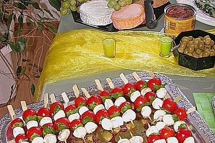 Tomate - Mozzarella - Sticks 35