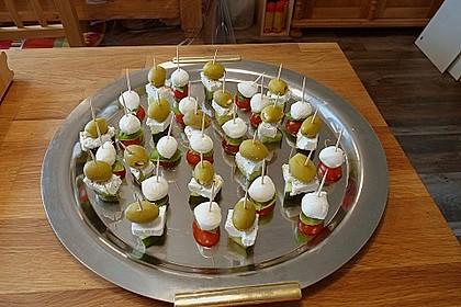Tomate - Mozzarella - Sticks 45