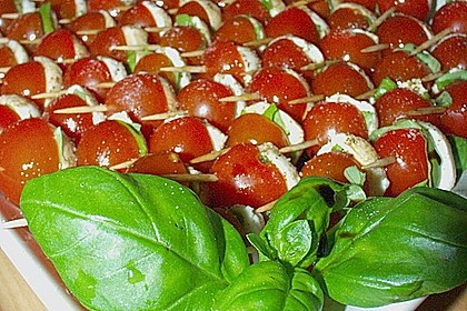 Tomate - Mozzarella - Sticks 30