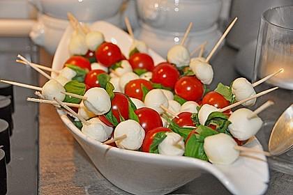 Tomate - Mozzarella - Sticks