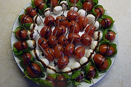 Tomate - Mozzarella - Sticks 20
