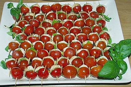 Tomate - Mozzarella - Sticks 18