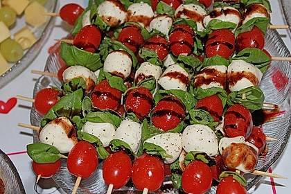 Tomate - Mozzarella - Sticks 21