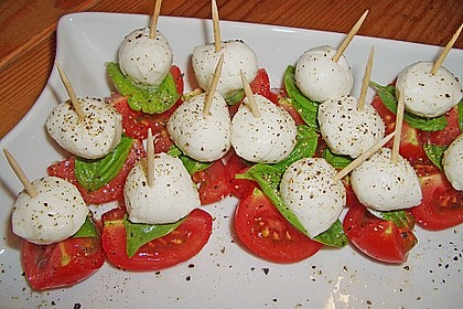 Tomate - Mozzarella - Sticks 23