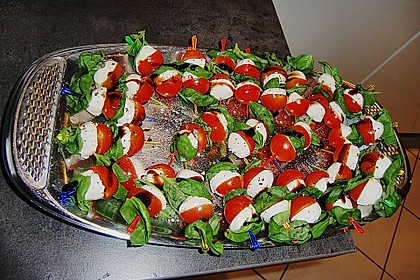 Tomate - Mozzarella - Sticks 48