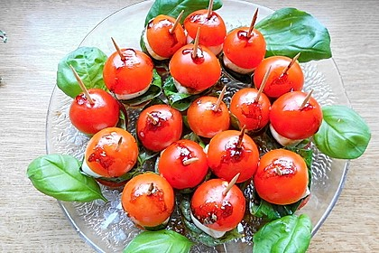 Tomate - Mozzarella - Sticks 28