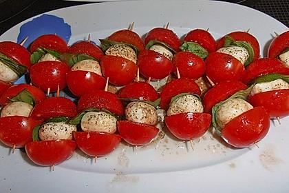 Tomate - Mozzarella - Sticks 39