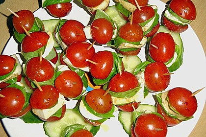 Tomate - Mozzarella - Sticks 26