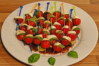 Tomate - Mozzarella - Sticks 15