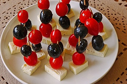 Tomate - Mozzarella - Sticks 49