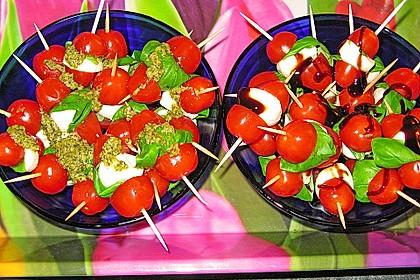 Tomate - Mozzarella - Sticks 52