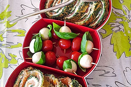 Tomate - Mozzarella - Sticks 32