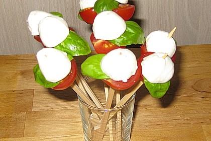 Tomate - Mozzarella - Sticks 57