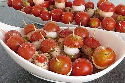 Tomate - Mozzarella - Sticks 9