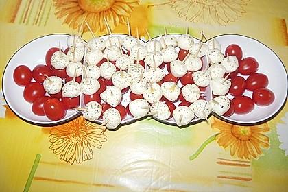 Tomate - Mozzarella - Sticks 38