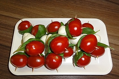 Tomate - Mozzarella - Sticks 16