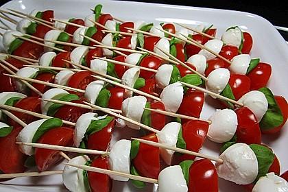 Tomate - Mozzarella - Sticks 14