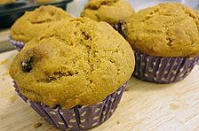 Süßkartoffel - Muffins