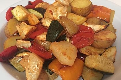 Gemüse aus dem Backofen 2