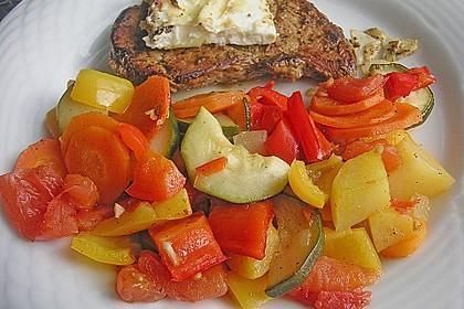 Gemüse aus dem Backofen 1