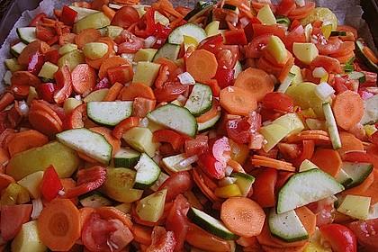 Gemüse aus dem Backofen 7