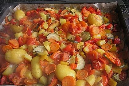 Gemüse aus dem Backofen 9
