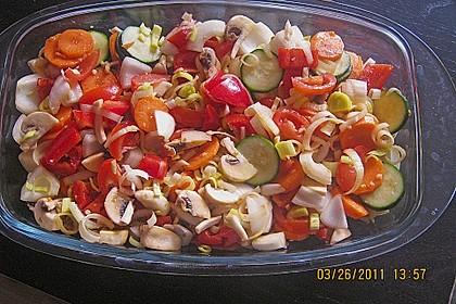 Gemüse aus dem Backofen 8