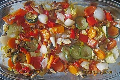 Gemüse aus dem Backofen 10