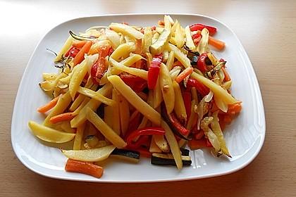 Gemüse aus dem Backofen 3