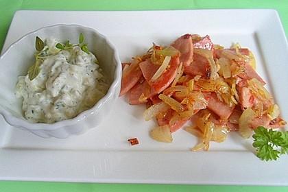 Fleischwurst - Döner Pfanne (Bild)