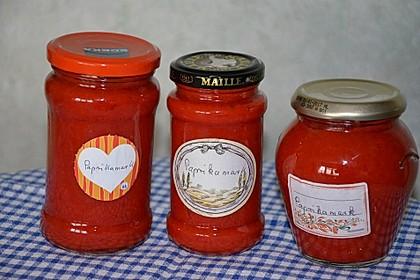 Paprikamark, eingekocht