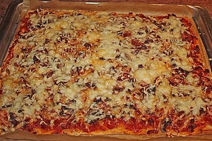 Pizza al Funghi e Pancetta 0