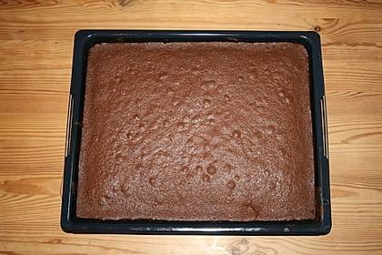 Schokoladenkuchen für's Blech (Bild)