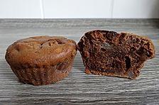 Birne - Schoko - Muffins