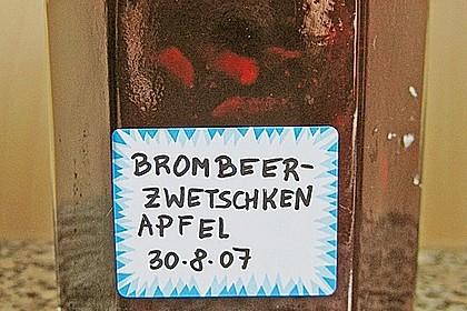 Brombeer - Apfel - Pflaumen Marmelade 2